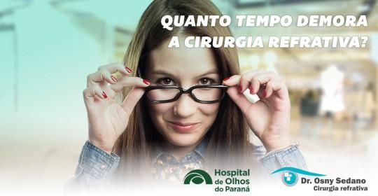 A Cirurgia Refrativa em Curitiba é Rápida?