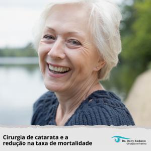 cirurgia de catarata e a redução na taxa de mortalidade